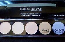 Make Up For Ever Camouflage Correction Cream Concealer Palette No 2 Light BNIB