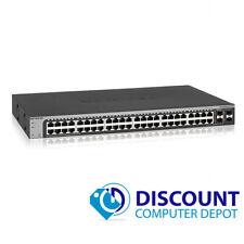 Netgear ProSafe GS748T v4 48 Port Gigabit Switch 2x Copper SFP