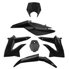Verkleidung Set TNT Schwarz für Derbi Senda DRD 50 Extreme Gilera SMT D50B0