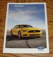 Original 2016 Ford Mustang Sales Brochure 16 Shelby GT350 350R V6 GT