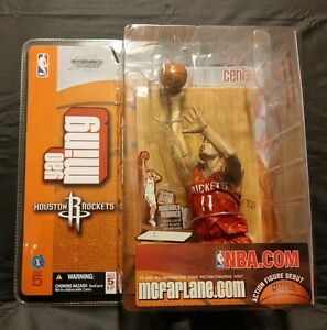 McFarlane NBA Series 5 Yao Ming Houston Rockets Red Jersey Chase Variant New