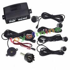 Auto che parcheggia 4 sensori Backup Radar Alert suono Grigio 230 centimetri
