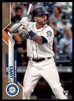 2020 Topps Series 2 Base Gold #654 Tim Lopes /2020 - Seattle Mariners