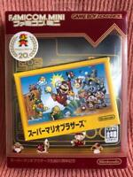 Nintendo Game Boy Advance SUPER MARIO BROS  Famicom Mini  20th ver Used