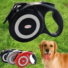 5m/8m Size Large Dog Retractable Leash Pet Flexible Leash Puppy Auto Lead S M L