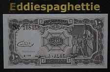 Egypt 10 PIASTRES El Razaz L.1940. UNC P-184b