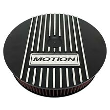 "Baldwin Motion Chevy 13"" Round Air Cleaner Kit Black - Ansen USA"