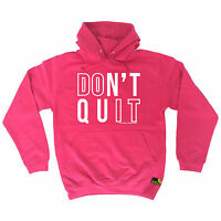 Dont Quit Do It SWPS HOODIE hoody birthday gym fitness training top Motivation