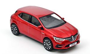 1/43 Norev Renault Megane 2020 Flamme Red Neuf Livraison Domicile