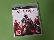 Assassin's Creed II (2) Sony Playstation 3 PS3 Game - Ubisoft *VGC*