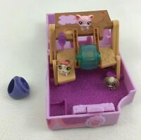 Littlest Pet Shop Teensie Figures 6pc Lot with Ring LPS Mini Playset Animals Toy