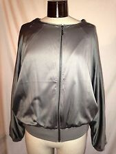 MARC BOUWER SILVER JACKET SIZE LARGE NWOT