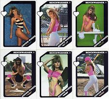 "Rookie Set !!! Benchwarmer 1989 ""Connie Woods"" R A R E ! "" 6 card set of M.I.H.!"