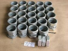 "LOT OF 25 NEW APPLETON 1"" THIN WALL COMPRESSION COUPLING  95T100"