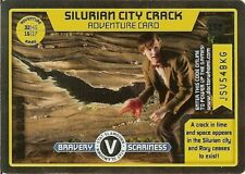 DR WHO MONSTER INVASION RARE - 152 SILURIAN CITY CRACK