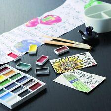 Kuretake ZIG Gansai Tambi Paint 36 Colors Watercolor, illustration F/S