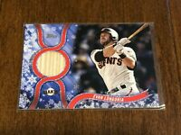 2018 Topps Walmart Holiday Baseball Bat Relic - Evan Longoria - Giants