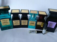 TOM FORD perfumes. Choose what you want to try of 25 scents. 1ml, 5ml or 10ml
