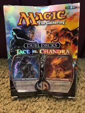 Jace vs. Chandra Duel Deck (ENGLISH) FACTORY SEALED BRAND NEW MAGIC MTG