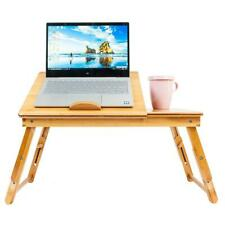 Bamboo Portable Folding Laptop Computer Notebook Table Bed Desk Bed Tray Stand