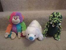 Webkinz- NO CODES!!!! Color Block Monkey, Camo Crocodile, Arctic Polar Bear