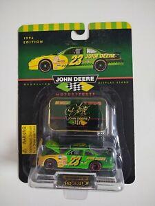 Chad Little #23 John Deere Die Cast Racing Champions Car 1:64 NASCAR 1996