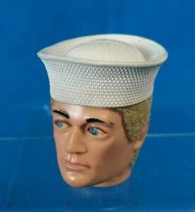 Vintage ACTION MAN Original USA NAVY Sailors Hat 1970s PALITOY GI Joe Cap