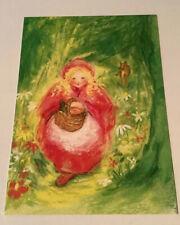 1 Kunstkarte, Rotkäppchen, Grimms Märchen, M. von Zeyl, Neu