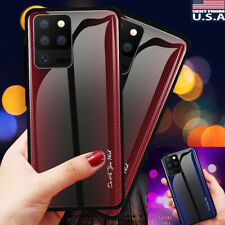 for Samsung Galaxy S20 Ultra S20+ Plus Tempered Glass Shockproof Hard Case Cover