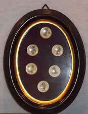 "Rare M. I. Hummel 1"" Minature Framed Goebel 1971-1976 Plates Le15,000"