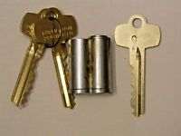 Schlage Key Set Lock Cylinder And 2 Keys # Cyl  23-030-6.626.
