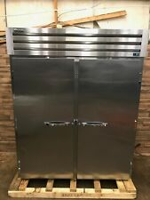 "2015 True Str2Rri-2S 68"" Two Section Roll-In Refrigerator (2) Solid Doors, 115v"