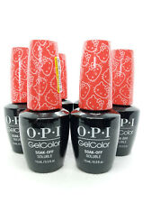 6pcs OPI Gel-color Soak OFF SOLUBLE GC H89 15mL / 0.5 fl.oz. - FREE SHIPPING!