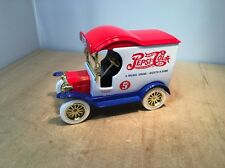 PEPSI COLA 1912 FORD MODEL T DELIVERY CAR DIECAST BANK - GEARBOX #76501