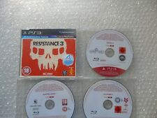PS3 Promo Resistance 3,Sleeping Dogs PS3,Crysis 2 PS3,Killzone 3 PS3 Promotional