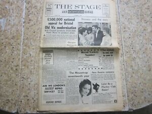 November 21st 1968, THE STAGE, Anne Godley, Sheila Southern, Frankie Howard.