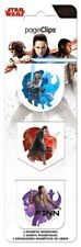THE LAST JEDI - STAR WARS MOVIE - MAGNETIC PAGE CLIPS - BRAND NEW BOOKMARK 4630