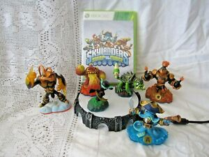 XBOX 360 SKYLANDERS SWAP FORCE DISC, PORTAL AND FIGURES