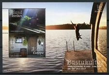 Aland 2017 MNH Sauna Traditions JIS Finland 2v M/S Cultures Tourism Stamps