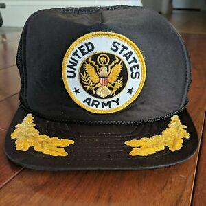 WANGLONG Us Army Veteran Mesh Trucker Hat Trucker Cap Baseball Cap Dad Cap