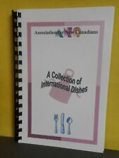Association for New Canadians,International Dishes,Newfoundland,Cookbook