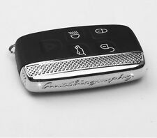 Remote FOB Land metal key side bezel cover shell range rover sport evoque SILVER