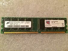 Memoria DDR Micron MT8VDDT3264AG-40BG4 256MB PC3200 400MHz CL3 184 Pin