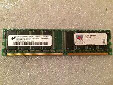 Memoria DDR Micron MT8VDDT3264AG-40BG4 256MB PC3200 400MHz CL3 184 Pin