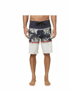 Oneill Corban Floral Graphic Full Length Board Shorts Size 30
