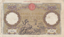 100 LIRE VG BANKNOTE FROM ITALY 1935 PICK-55
