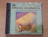 CINEMA CLASSICS 5 - CLASSICAL MUSIC MADE FAMOUS IN FILMS  / CD NEU