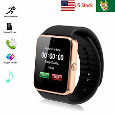 Bluetooth Wrist Smart Watch GSM SMS Sync For Android LG G3 G4 G5 Huawei P10 P9 8