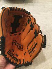"New listing Wilson Pro 450 T-Ball Baseball mitt glove 10"" right hand throw leather A0450"