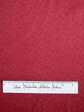 """Riverwoods Fabric - Farm Doodles Maroon Ears of Corn Packed - Cotton 34"""""""